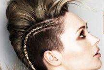 Work hair photo shoot
