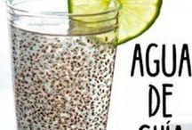 agua de chia y limon para bajar de peso