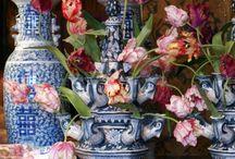 zijden bloemen