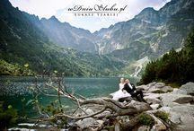 Sesja zdjęciowa w górach / Idealne miejsce na ślubną sesje dla Młodych Par np. sesja zdjęciowa z górach, sesja w Zakopanem, góralskie wesele, kolorowe wesele, ludowe wesele.