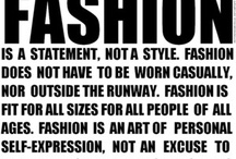 Fashionista / by Kyle Sargent