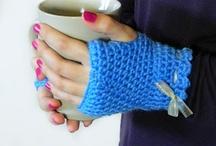 Knitting - Fingerless Gloves