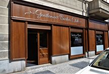Gentlemen´s Barber Club in Prague