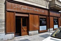 Gentlemen´s Barber Club in Prague