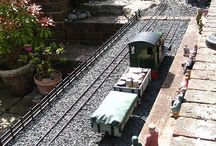 Garden Railway / This will be a retirement project in let's say 30 years give or take. Something my love and I could do together. / by Cassie Rawlins