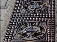 Sewer Covers (the operculist) / Board of sewer covers and Opercula