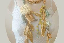 Crochet Lariat Scarves and Necklaces - Hisliden