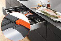 Clearly distinguishing AMBIA-LINE kitchen accessories