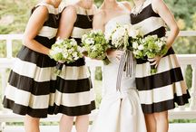 Fekete-fehér esküvő - black and white wedding