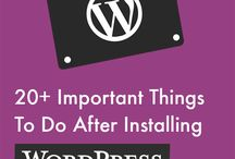 Wordpress website Development & Tips