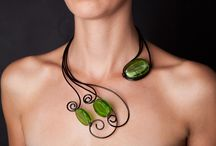 necklace wire wrap
