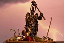 Herr der Ringe-Dioramen / Herr der Ringe, Lord of the Rings, HdR, LotR, Schlacht des letzten Bündnisses, Elendil, Isildur, Sauron, Brücke von Kazad-Dûm, Balrog, Gandalf, Wetterspitze