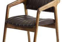 SHORT SLICED  // Chair / Walnut & Fabric, Leather W:54 L:63 H:83 Designed By Kerem Erçin & Mahmut Kefeli, 2011