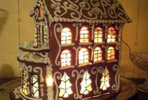 Gingerbread houses - Пряничные домики / Cooking - Кулинария