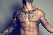 Mens tattoo
