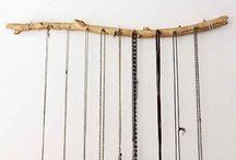 Sieraden ophangen
