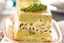 Terrines/quiches/cakes