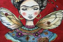 """""""Pies, pa' que los Quiero  sí Tengo Alas Para Volar """" F. K / Frida Kahlo, México"""