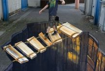 Art of the Street and of the Buildings / Amazing realistic 3D art, awesome streetscapes and sculptures