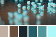 Color ✿ Turquoise & Brown / Turquoise & Brown Mood Board Inspiration, Color Inspiration