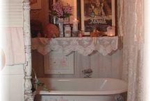 Bagno in stile vittoriano