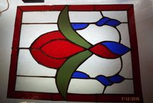 My stained glass projects / Stain glass I've made or am making