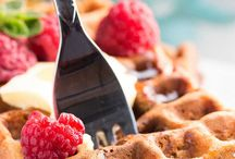 Healthy Waffles From Scratch