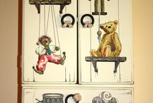 Childrens Rooms / Shabby Chic cupboard