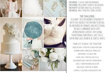 Inspiration Boards / Inspiration boards created by The NotWedding's graphic designer for each of The NotWedding's events. These boards offer the overall feel for each event, along with music and color selections and even challenges for the designers.
