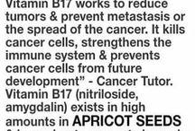 Cancer (reduce tumours )
