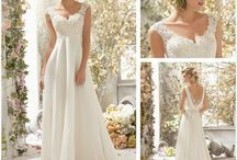 Ślubne inspiracje. / Suknie ślubne, fryzury, dekoracje... Wszystko co może zainspirować przyszłych Państwa Młodych ! :)