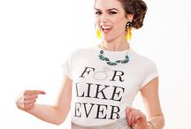 Bridal T-Shirts and Tank Tops / Personalize your bridal apparel for your bachelorette or the day of your wedding