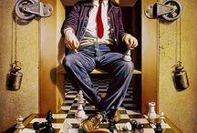 Chess Game Art / Chess Game Art