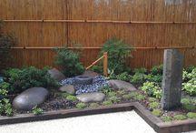 jardin zen fontaine