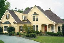 Cream shades for Exteriors / Give a luxury look to your home with cream shades