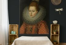 BEDROOM @ MUURMEESTERS / Muurmeesters brings you a unique way to admire your favourite Dutch Masterpiece on your wall. Mounted in a solid aluminium frame, available in (almost) any size and exchangeable!
