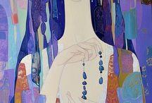 Maia Ramishvilli / American artist from Georgia (1969-