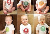 Baby Month by Months Photo Ideas