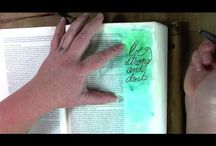*Ezra--Bible Journaling by Book / Bible Journaling examples from the book of Ezra