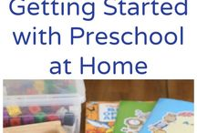 Preschool activities at home