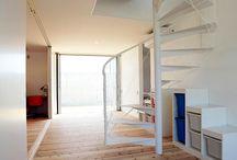階段 / 香川県でソラマドの家を建てています、センコー産業です。 香川県内で手掛けた「ソラマドの家」の写真(施工例)を掲載しています。 実際に「ソラマドの家」を見たい方。香川県綾歌郡宇多津町にモデルハウスもございます。ぜひ遊びに来てください♬