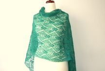 Estonian & other lace shawls