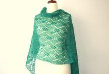 Estonian & other lace shawls