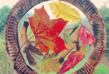 blader på tallerken