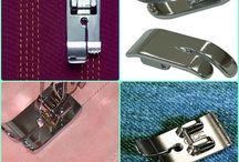 diferente pies de maquinas de coser y todo sobre maquinas de coser