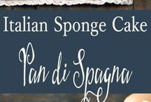 plain sponge cakes