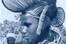 African hair style