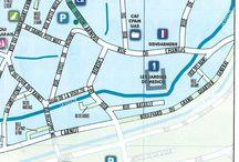 Plan de la cité médiévale de Provins / Les rues, les attraits touristiques, les établissements scolaires, découvrez le plan complet de #Provins