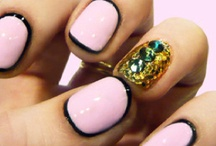 Nails / I change my nail polish every couple of days. Enough said.