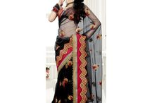Sarees To Die For / Amazing Indian Designer and Fashion Sarees. Discover Cool Net Sarees, Lehnga Sarees, Chiffon Sarees, Georgette Sarees, Banarasi Sarees, Cotton Sarees and More from India. / by Craftsvilla.com
